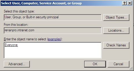 Add User/Group